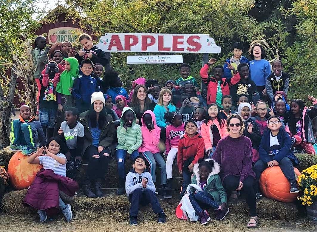 Edmunds Kids Revel in the Season on Their Trip to an Apple Orchard