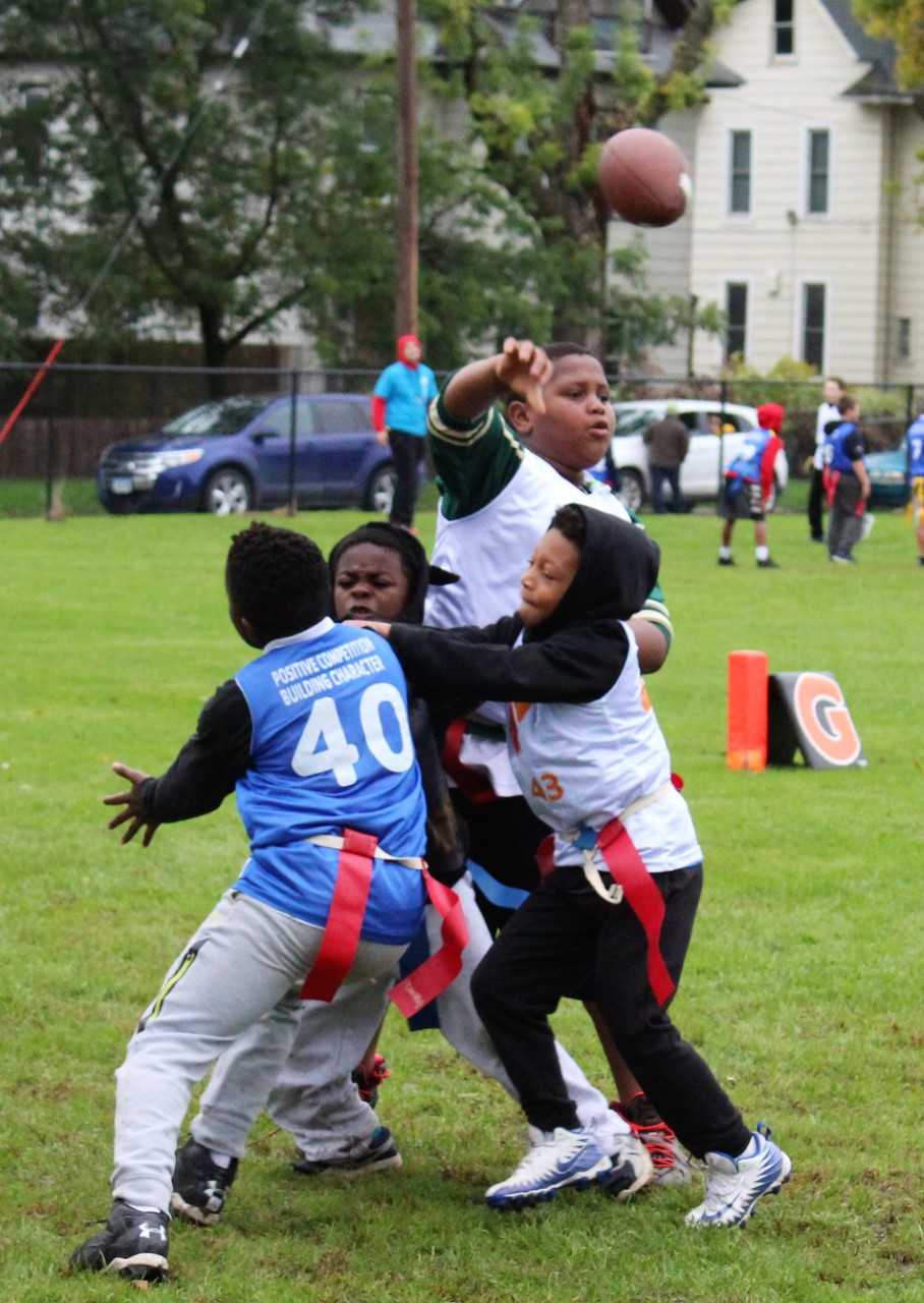 Edmunds Kids Rule the Field in the 2018 YMCA Flag Football Season