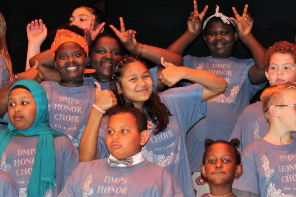 Edmunds Music Students Take Part In The DMPS Honor Choir