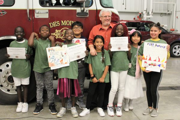 Edmunds Artists Win for Fire Safety!