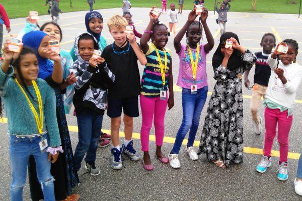 Edmunds' Kids Celebrate Health In Iowa's Healthy State Walk!
